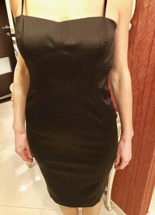 Деловое / вечерние платье zara чёрное