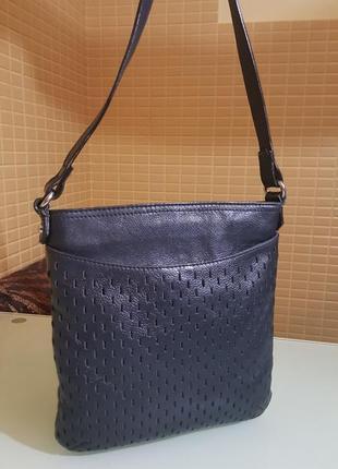 Молодежная женская сумка clarks 100%кожа