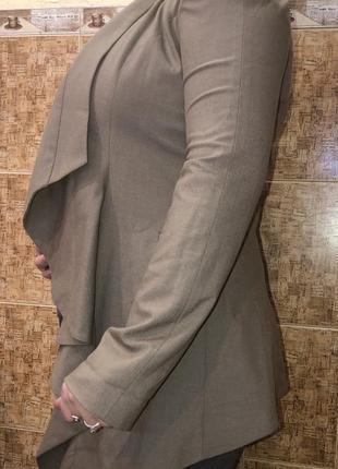 Шикарный фирменный кардиган накидка р.м/12,в идеале.5 фото