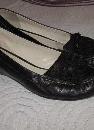 Шкіряні туфлі geox р. 37,5