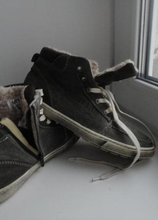 Унисекс.утепленные ботинки кеды venice