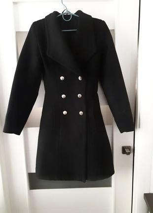 Пальто зимнее кашемир теплое класический стиль ххс