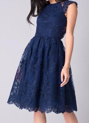 Ажурное платье asos chi -chi 50 размер