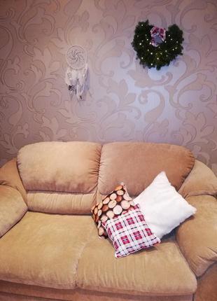 Декоративные новогодние подушки комплект
