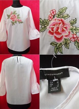 Очень красивая блуза с вышивкой