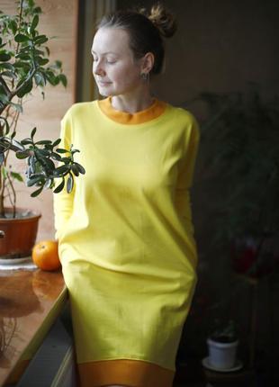 Домашнее платье ночнушка пижама хлопок. на подарок