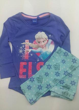 Пижама детская дисней фрозен