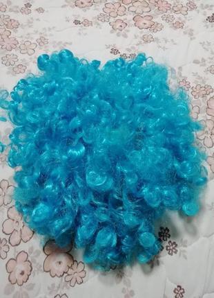 Карнавальный новогодний костюм парик мальвины на 6-16лет