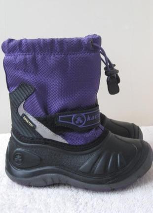 Зимние ботинки kamik gore-tex р. 26 в отличном состоянии, как новые