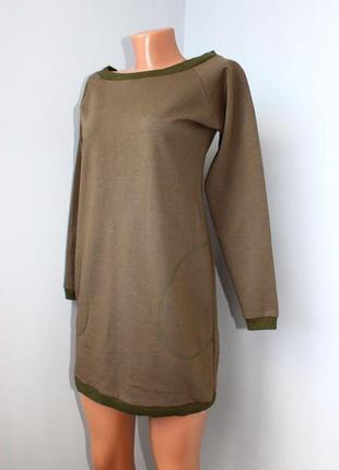 Платье - свитшот р. s