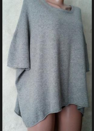 Свитер оверсайз кашемир свитер с коротким рукавом кашемир ангора