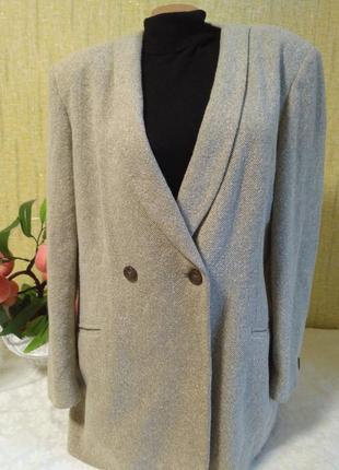 Трендовый жакет, пальто,удлиненный пиджак