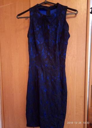 Маленькое синее платье