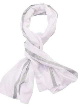 Воздушный шарф 180*70 esmara германия белый