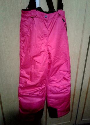 Лыжные зимние мембранные спортивные штаны, брюки crane. рост до 164 см. xs-s