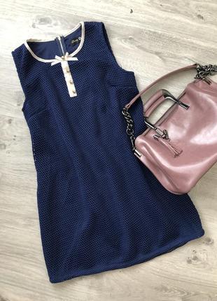 Очень-очень милое платье. платье трапеция. короткое платье  р. м-л ( 44-46) бренд danity