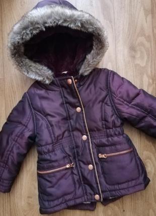 Парка, куртка, курточка f&f на 18-24 мес, 1,5-2 года