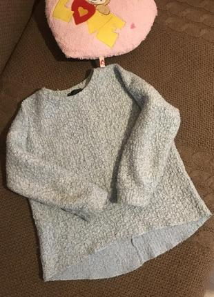 Классный джемпер барашек topshop#свитер