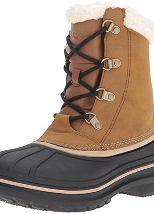 Акция! зимние ботинки crocs м9 и м10. оригинал