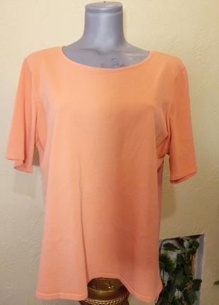 Комбинированная блуза 50-52р