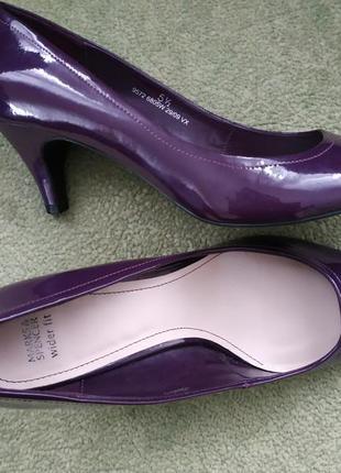 Туфли лаковые 38.5