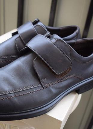 9c08e6638 Кожаные туфли hotter shock point как новые р.42/43 28 см uk-8 англия ...