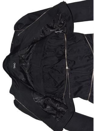 Комплект платье и балеро черный с молниями tago3 фото