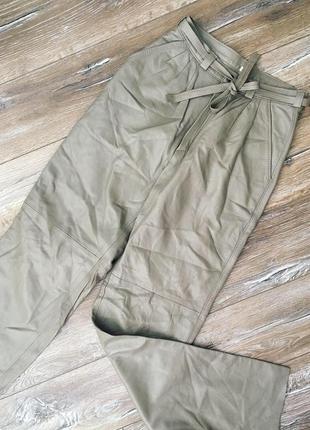 bd5c5972c321 Кожаные брюки, женские 2019 - купить недорого вещи в интернет ...