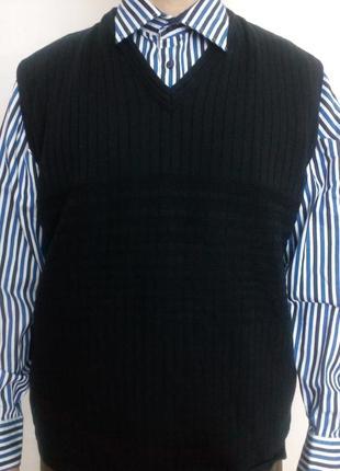Мужской жилет woolmark