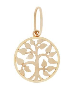 Кулон из золота дерево жизни