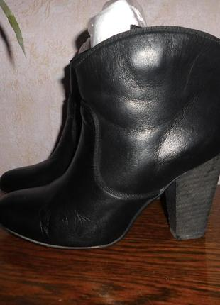 Ботинки полусапоги кожа натуральная