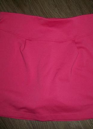 Спортивная юбка-шорты на 8 лет artengo артенго