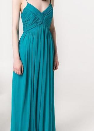 Длинное платье mango, р м