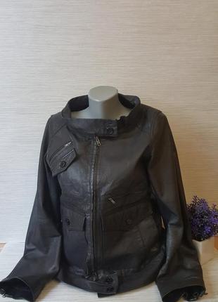 Стильная женская куртка kookai кожа 100%