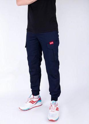 Тёплые зимние карго штаны punch
