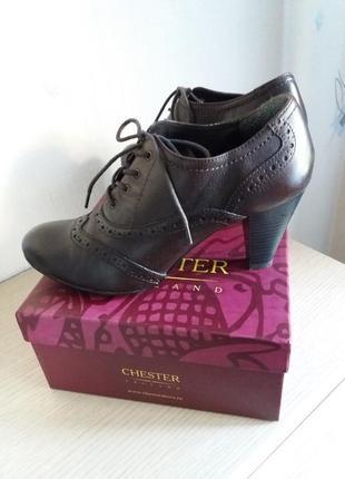 Туфли chester. 40 размер.