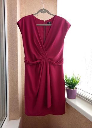 Супер красивое нарядное платье миди