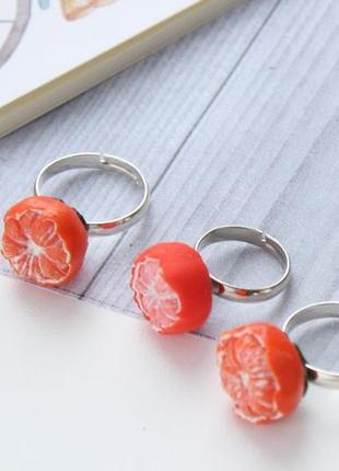 Кольца мандаринки кольцо мандарина