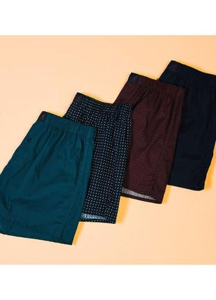 Kangol набор мужские шорты боксеры, 4 штуки