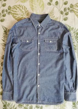 Брендовая джинсовая рубашка easy