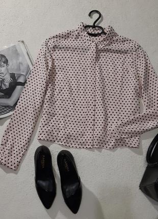 Стильная вискозная укороченная блуза
