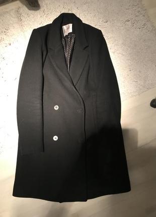 Пальто прямое zara