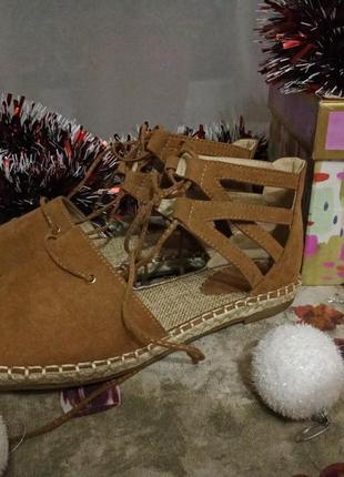 Тренд 🙌мега-крутые новые сандалии на завязках 😍 ну очень милые 😍