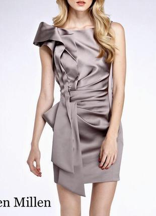 Шикарное короткое платье хамелеон karen millen (карен миллен)
