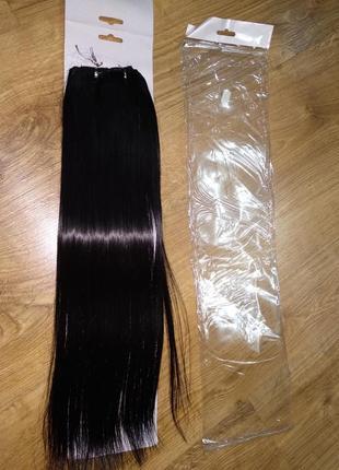 Волосы на заколках (канекалон) 50 см термо трессы
