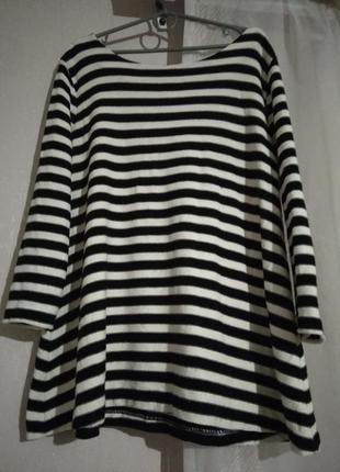 Платье короткое туника  zara