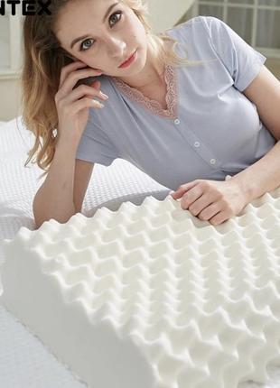 Ортопедическая 100% латексная подушка