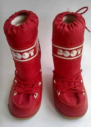 Зимние сапоги дутики луноходы мунбуты детские, бренд boot, размер 31-32