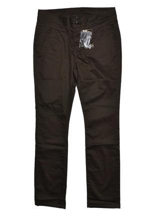 Комфортные штаны джинсы цвета хаки  women soul от jbc