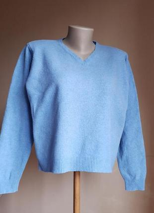 Свитер пуловер  шерсть lambswool ewm